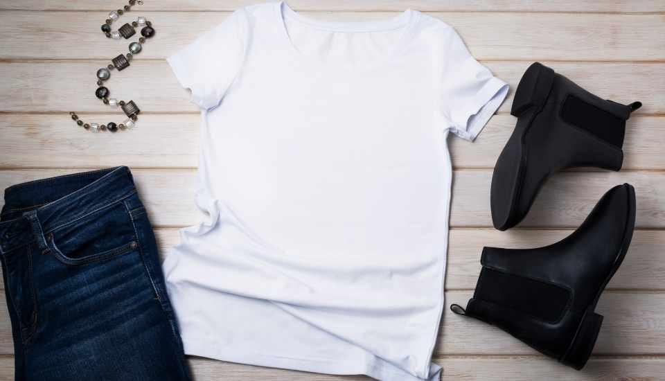 colección de moda básicos